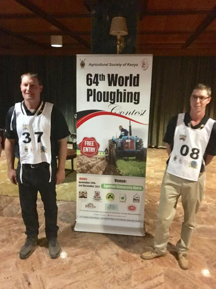 2017 World Ploughing - Tom Evans and Jay Lennox