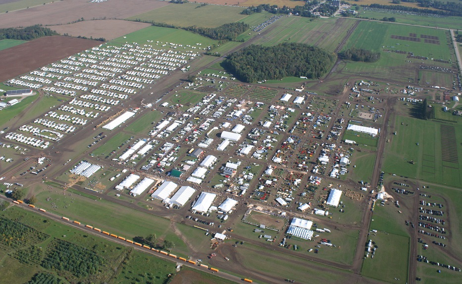 Aerial picture of IPM 2017