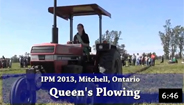 Queen of the Furrow Plowing