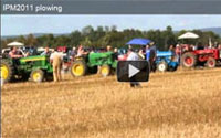 IPM 2011 Plowing Competition